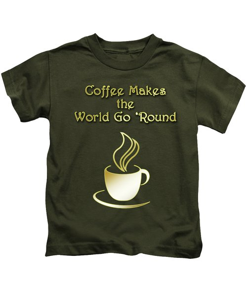 Coffee Aroma Kids T-Shirt