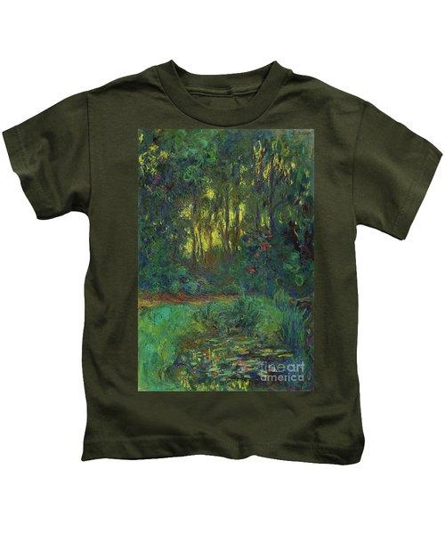 Coin Du Bassin Aux Nympheas Kids T-Shirt