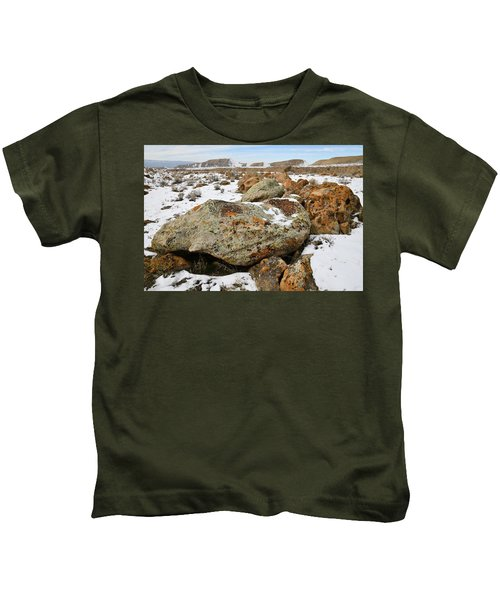 Color In The Book Cliff Desert Kids T-Shirt