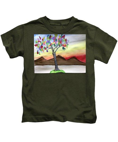 Colored Tree Kids T-Shirt