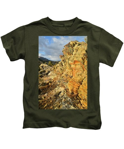 Colorful Entrance To Colorado National Monument Kids T-Shirt