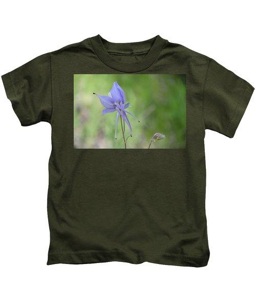 Columbine Details Kids T-Shirt