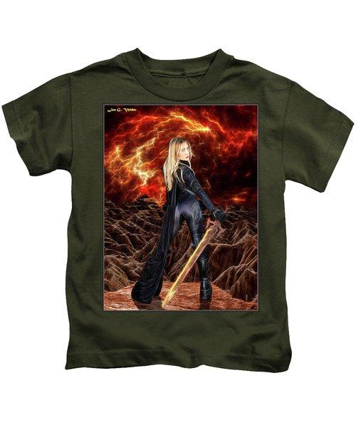 Cosmic Destroyer Kids T-Shirt