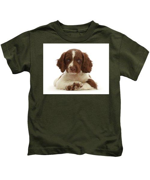 Cross Paws Kids T-Shirt