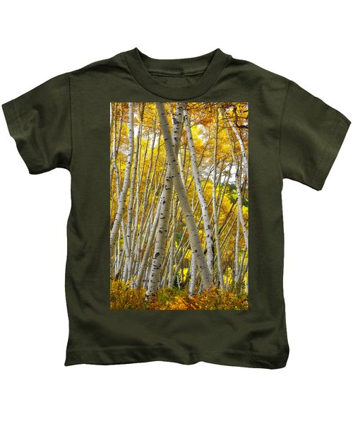 Crossed Aspens Kids T-Shirt