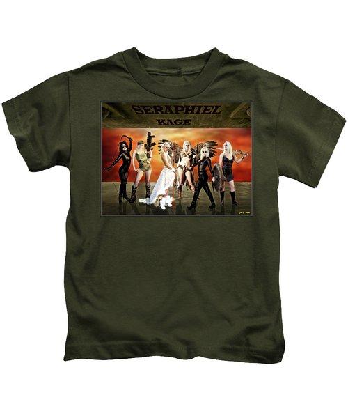Seraphiel Illusions Kids T-Shirt