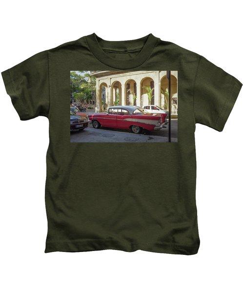 Cuban Chevy Bel Air Kids T-Shirt