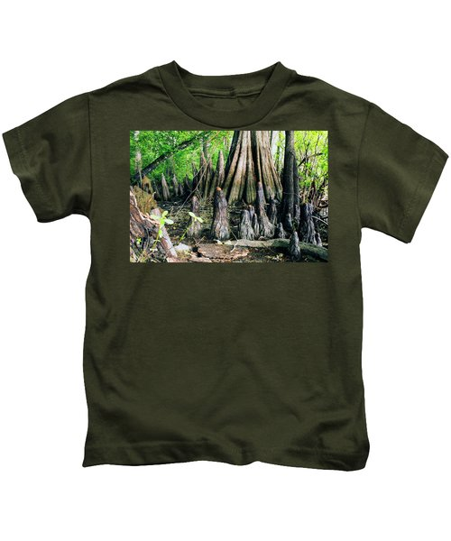 Cypress Swamp Kids T-Shirt