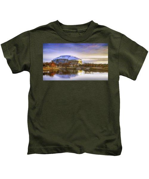 Dallas Cowboys Stadium Arlington Texas Kids T-Shirt