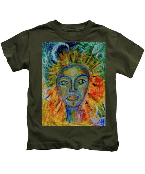 Daughter Of The Sun And Moon Kids T-Shirt