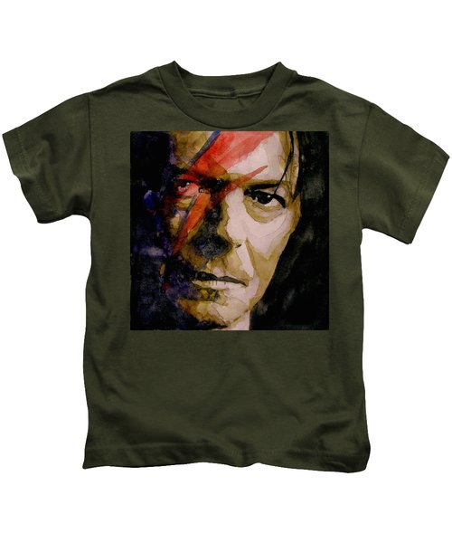 David Bowie - Past And Present  Kids T-Shirt