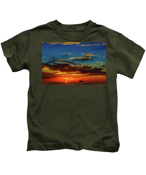 December 17 Sunset Kids T-Shirt