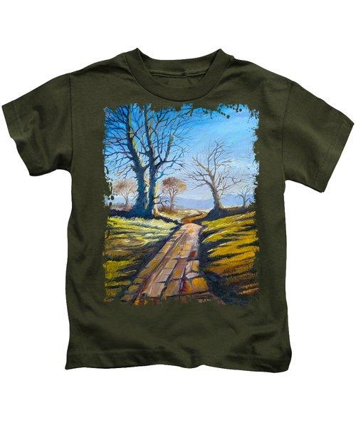 Deciduous Trees Kids T-Shirt