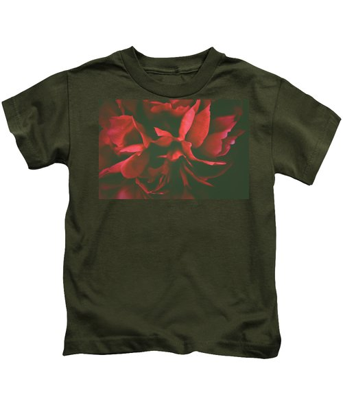 Deep Red Kids T-Shirt