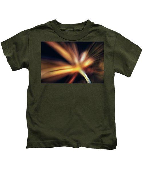 Dill Flower Abstract Kids T-Shirt