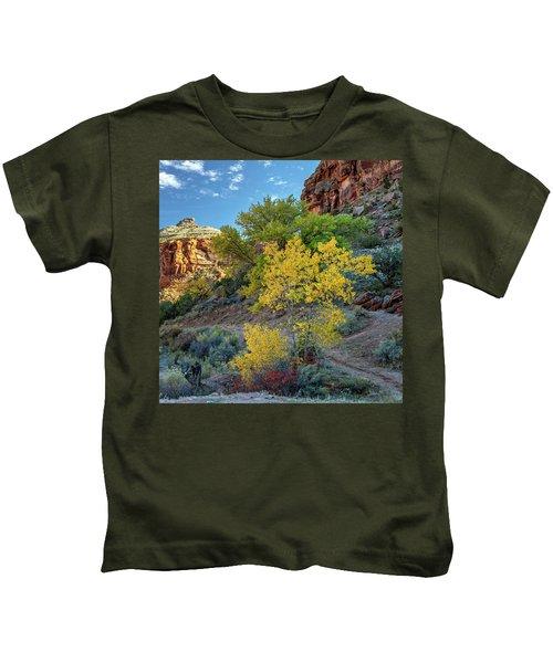 Dominguez Gold Kids T-Shirt