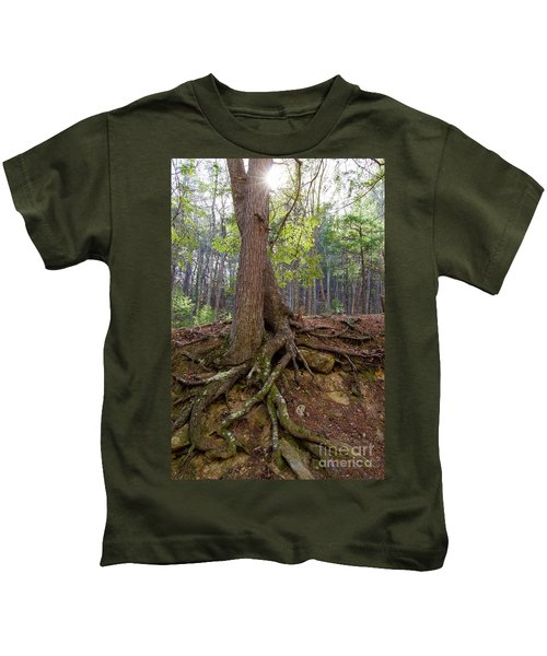 Down In Her Roots Kids T-Shirt