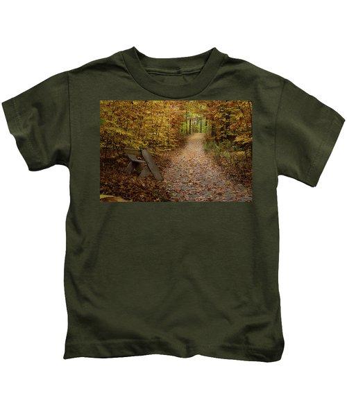 Down The Trail Kids T-Shirt