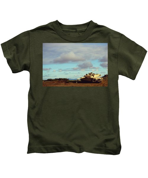Downed But Not Out Kids T-Shirt