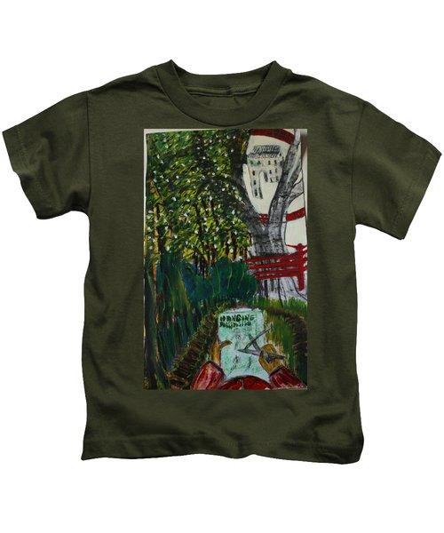 Drawing The Lavish Abuser Kids T-Shirt