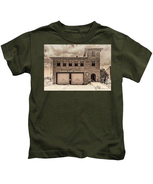 Duran Fire Dept Kids T-Shirt