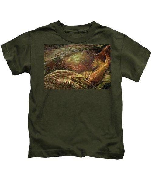 Earth Evening Kids T-Shirt