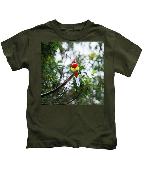 Eastern Rosella Kids T-Shirt