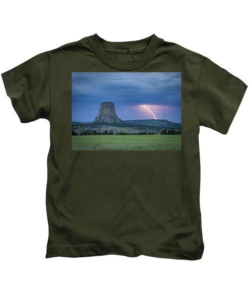 Electrifying Night Kids T-Shirt