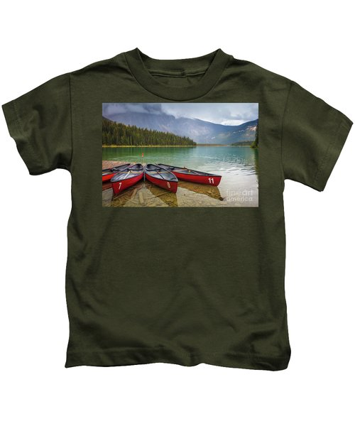 Emerald Lake Kids T-Shirt