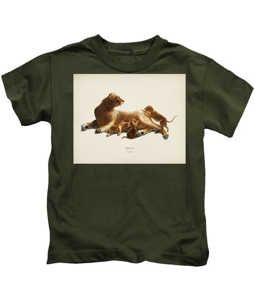 Fails Leo Illustrated By Charles Dessalines D  Orbigny  1806 1876  Kids T-Shirt