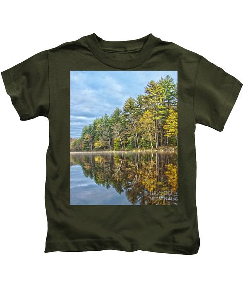 Fall Reflection Kids T-Shirt
