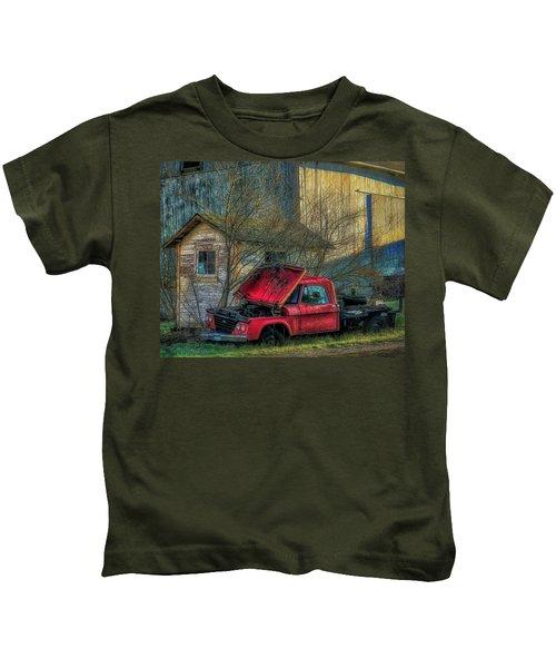 Final Resting Place Kids T-Shirt