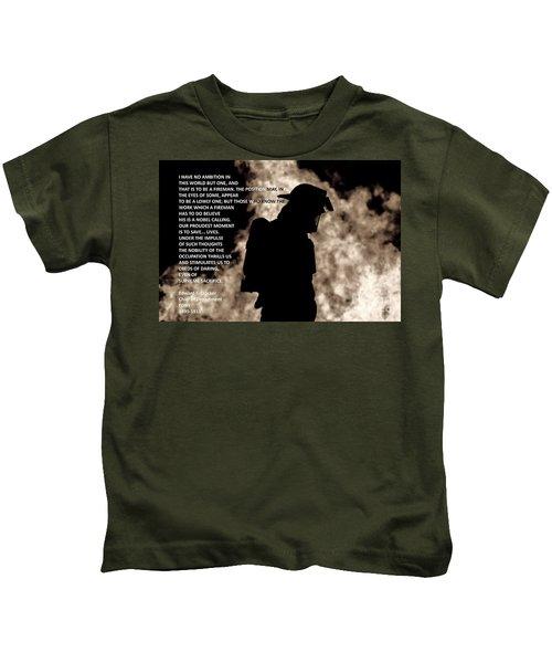 Firefighter Poem Kids T-Shirt