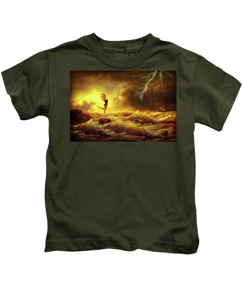 Flirting With Disaster Kids T-Shirt