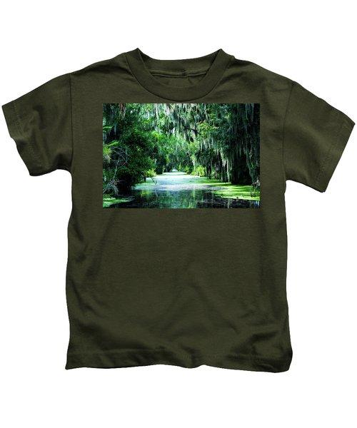 Flush With Green Kids T-Shirt