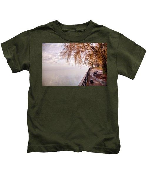 Foggy Niagara Kids T-Shirt