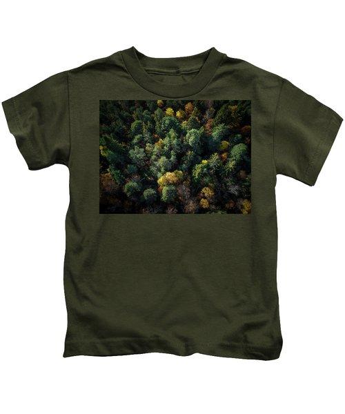 Forest Landscape - Aerial Photography Kids T-Shirt