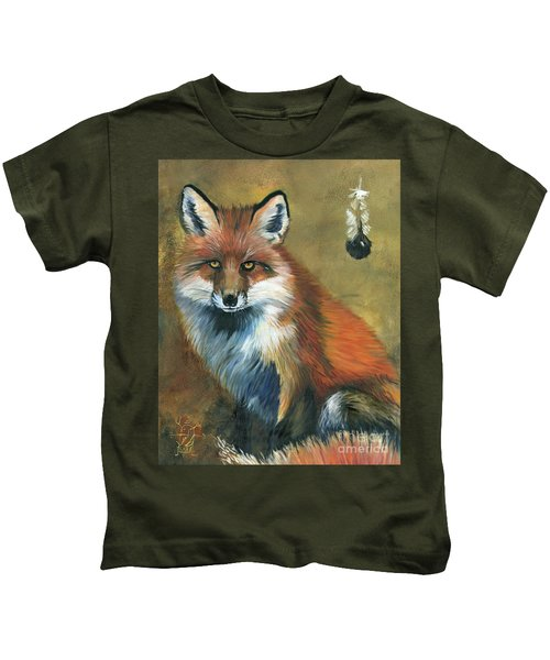Fox Shows The Way Kids T-Shirt