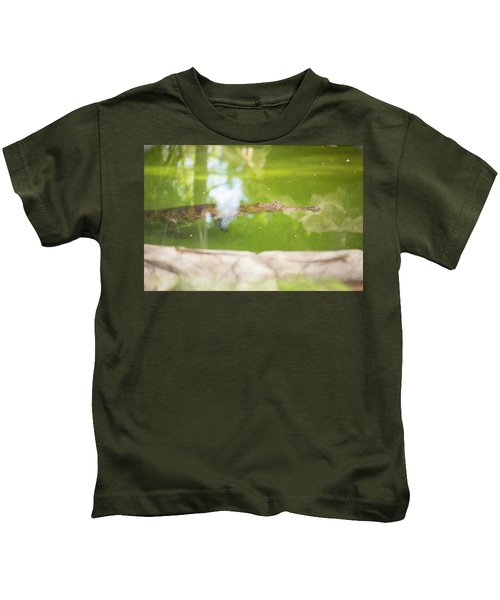 Freshwater Crocodile Kids T-Shirt