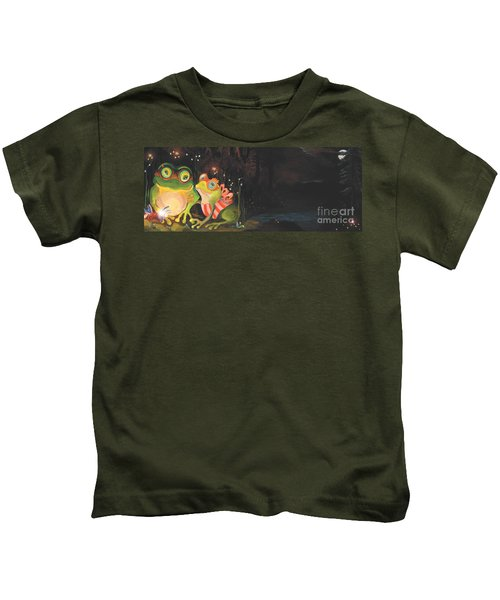 Frogs Of Silver Lake Kids T-Shirt