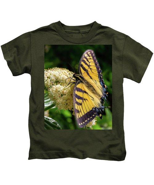 Fuzzy Butterfly Kids T-Shirt