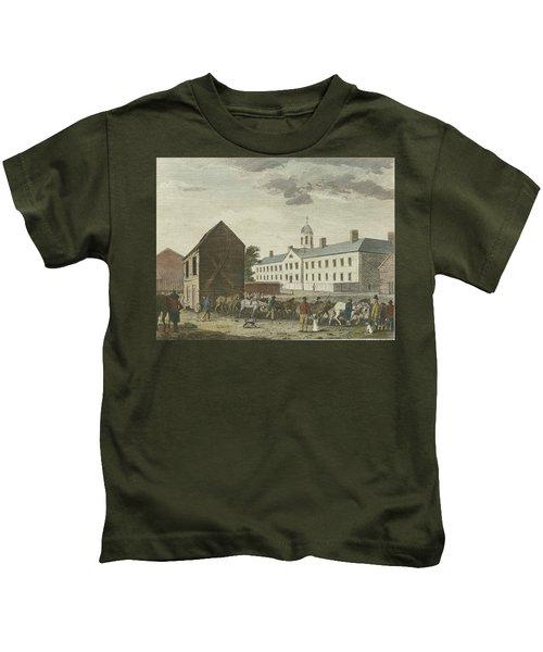 Gaol In Walnut Street Kids T-Shirt