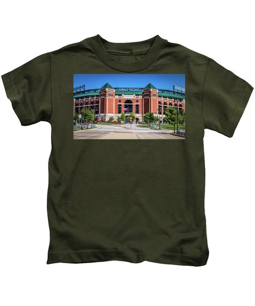 Globe Life Park In Arlington Kids T-Shirt