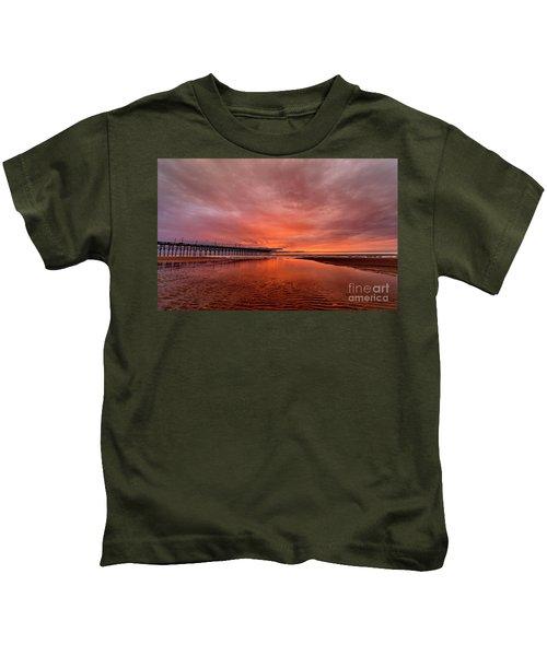 Glowing Sunrise Kids T-Shirt