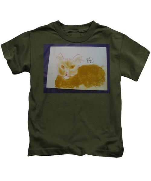 Golden Cat Kids T-Shirt