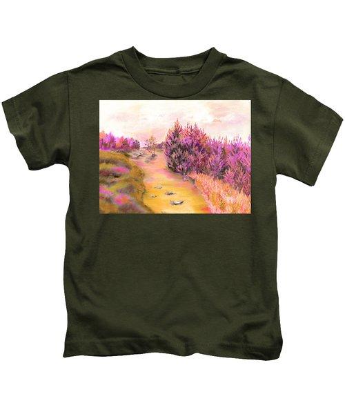 Golden Forest Kids T-Shirt