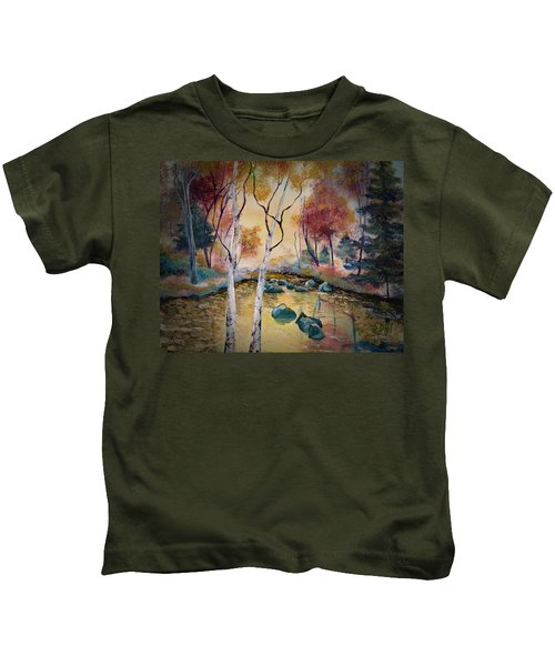 Golden Illumination Kids T-Shirt