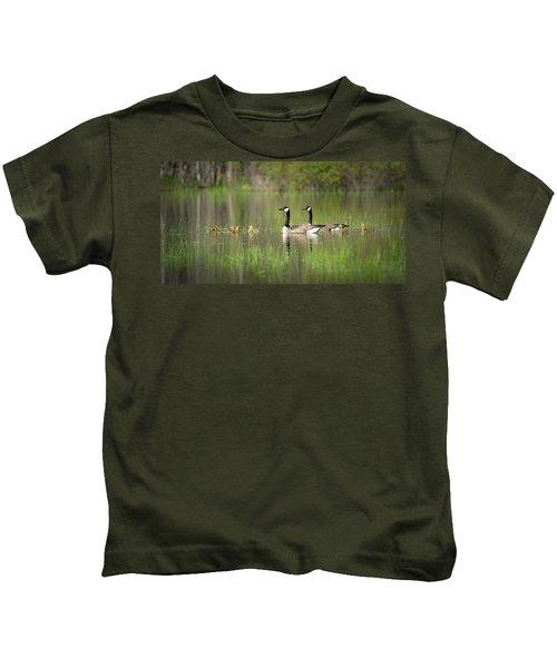 Goose Family #5 Kids T-Shirt
