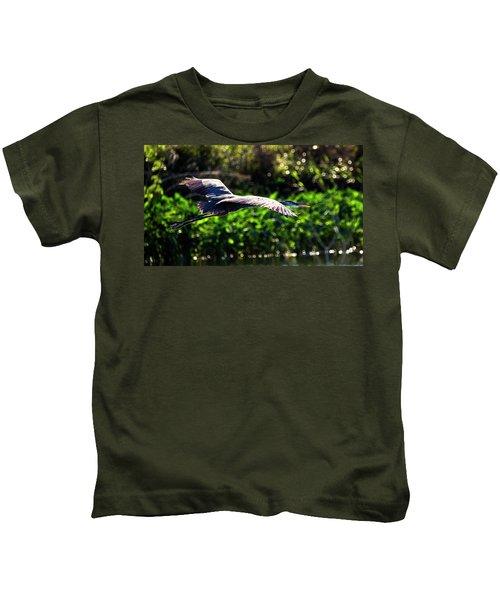 Great Blue Escape  Kids T-Shirt
