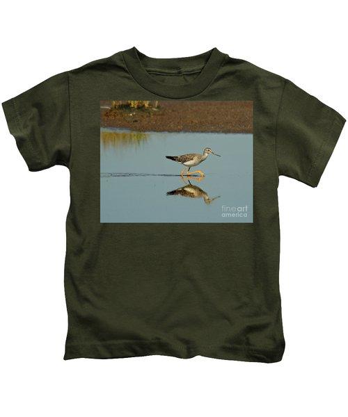 Greater Yellowlegs  Kids T-Shirt